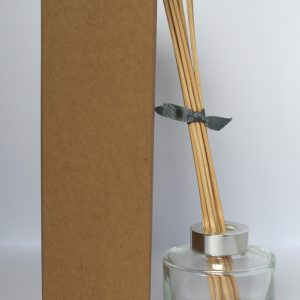 100ml Kraft Brown Reed Diffuser box with no window.