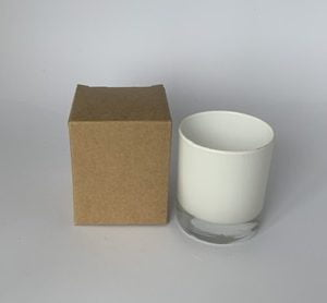 20cl Kraft candle box with a web top.