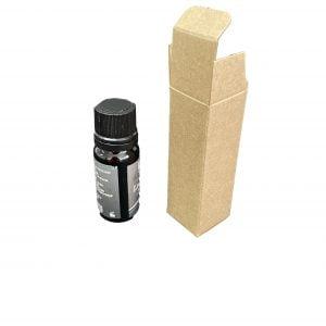 10ml Kraft dropper bottle box.